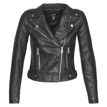 material Women Leather jackets / Imitation leather Vero Moda VMKERRIULTRA Black