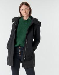 material Women coats Vero Moda VMDAFNEDORA Black