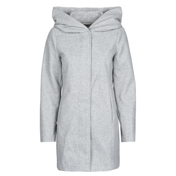 material Women coats Vero Moda VMDAFNEDORA Grey