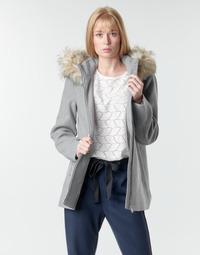 material Women coats Vero Moda VMCOLLARYORK Grey