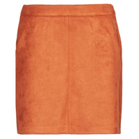 material Women Skirts Vero Moda VMDONNADINA Orange