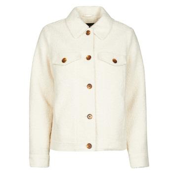 material Women Jackets / Blazers Vero Moda VMCOZY Ecru
