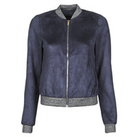 material Women Leather jackets / Imitation leather Vero Moda VMSUMMERELISA Marine