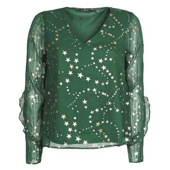 material Women Blouses Vero Moda VMFEANA Green