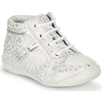 Shoes Girl High top trainers GBB ACINTA White / Silver