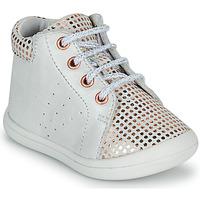 Shoes Girl High top trainers GBB NAHIA White