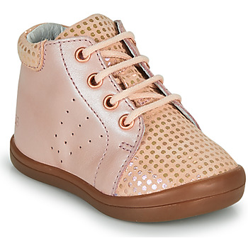 Shoes Girl High top trainers GBB NAHIA Pink