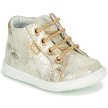 Shoes Girl High top trainers GBB FAMIA Beige