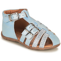 Shoes Girl Sandals GBB RIVIERA Blue