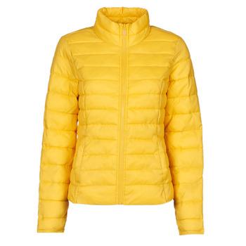 material Women Duffel coats Only ONLTAHOE Yellow