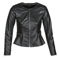 material Women Leather jackets / Imitation leather Only ONLJENNY Black