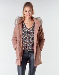 material Women Parkas Only ONLKATY Pink