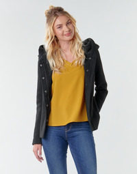 material Women coats Only ONLNEWSEDONA Black