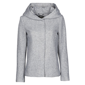 material Women coats Only ONLNEWSEDONA Grey