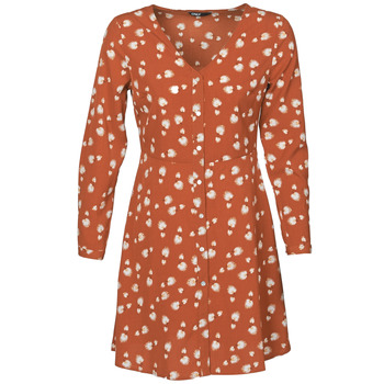 material Women Short Dresses Only ONLASHER Rust