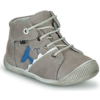 Shoes Boy High top trainers GBB ABRICO VTE GRIS DPF/RAIZA