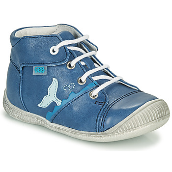 Shoes Boy High top trainers GBB ABRICO Blue