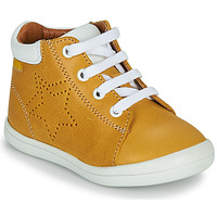 Shoes Boy High top trainers GBB BAMBOU Yellow