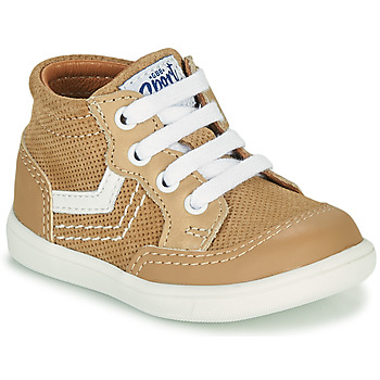Shoes Boy High top trainers GBB VIGO Beige