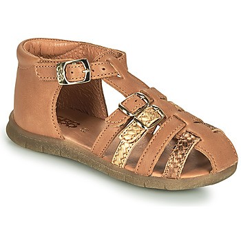 Shoes Girl Sandals GBB PERLE Brown