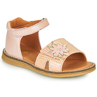 Shoes Girl Sandals GBB SATIA Vtc / Pink / Vipera