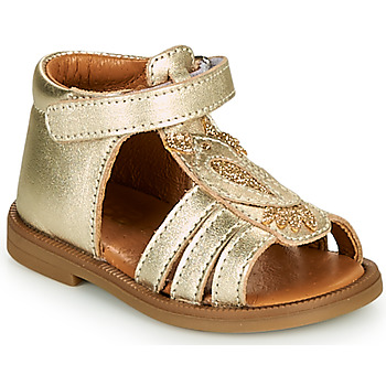 Shoes Girl Sandals GBB FRANIA Crt / Gold