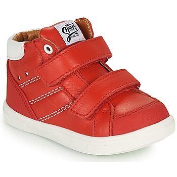 Shoes Boy High top trainers GBB MORISO Red