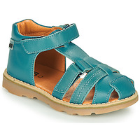 Shoes Boy Sandals GBB MITRI Vte / Blue / Duck