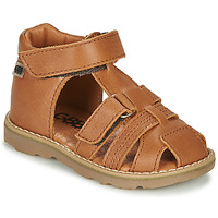 Shoes Boy Sandals GBB MITRI Brown