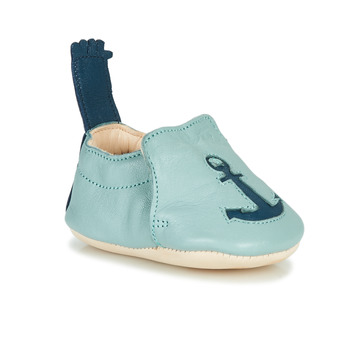 Shoes Children Slippers Easy Peasy BLUMOO ANCRE Leather