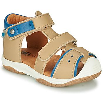 Shoes Boy Sandals GBB EUZAK Beige