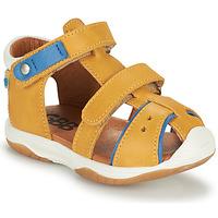 Shoes Boy Sandals GBB EUZAK Yellow