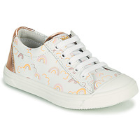 Shoes Girl Low top trainers GBB MATIA White / Pink