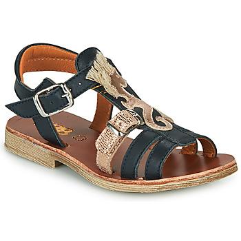 Shoes Girl Sandals GBB PALOMA Marine