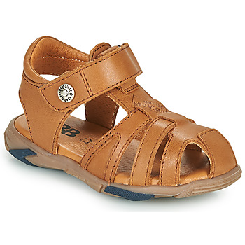 Shoes Boy Sandals GBB LUCA Brown