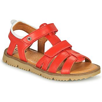 Shoes Boy Sandals GBB JULIO Red