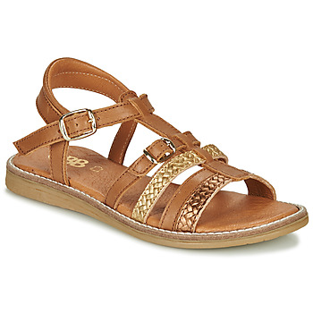 Shoes Girl Sandals GBB OLALA Brown
