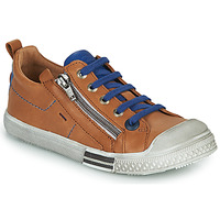 Shoes Boy Low top trainers GBB STELLIO Brown