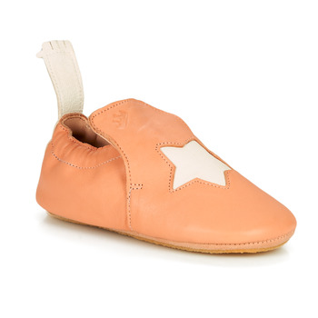 Shoes Children Slippers Easy Peasy BLUBLU ETOILE MOU PEACH-BLANC MOU/PATIN