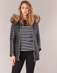 material Women Duffel coats Oakwood 61679 Black