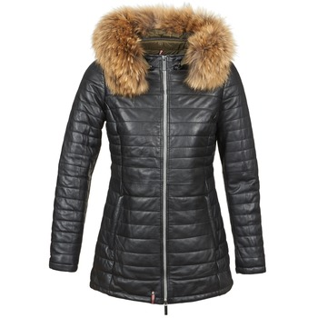 material Women Duffel coats Oakwood 61679 Black