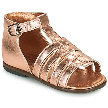 Shoes Girl Sandals Little Mary HOSMOSE Pink