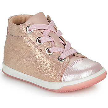 Shoes Girl High top trainers Little Mary VITAMINE Pink