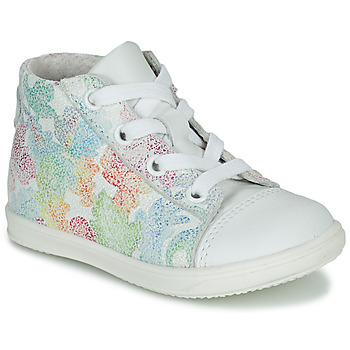 Shoes Girl High top trainers Little Mary VITAMINE White