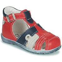 Shoes Boy Sandals Little Mary VERCORS Red
