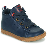 Shoes Boy High top trainers Little Mary LEON Blue