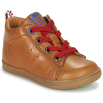 Shoes Boy High top trainers Little Mary LEON Brown
