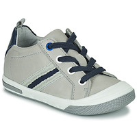 Shoes Boy Low top trainers Little Mary LOGAN Grey