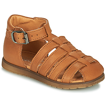 Shoes Boy Sandals Little Mary LIXY Brown