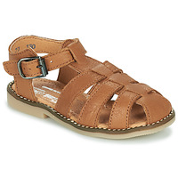 Shoes Boy Sandals Little Mary BREHAT Brown